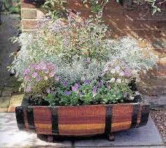 garden design garden design with oak tubs barrel planters with