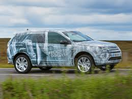 land rover camo land rover shows off seven occupant discovery sport in camo trim