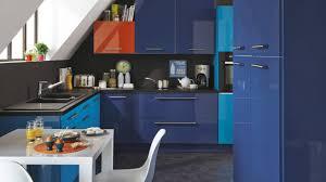couleur meuble cuisine tendance tendance couleur cuisine 2017 et cuisine blanche mur bleu