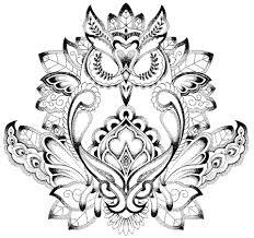 thigh tattoo sketches under tattoo go back u003e images for u003e under breast mandala