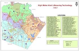 Texas Precinct Map High Water Detection System Phase Ii Bexar County Flood Control