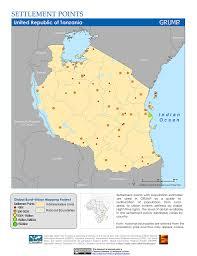 Tanzania Map Map Gallery Sedac