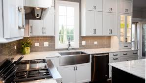 Brushed Nickel Kitchen Cabinet Knobs Stylish Transitional Kitchen Design U0026 Remodeling Naperville