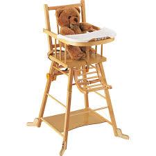 d coratif chaise haute b bois bb bébé eliptyk