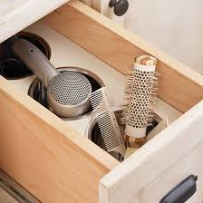 Hair Dryer Bathroom Storage Caddy by 11 Ways To Store Hairstyling Products The Posh Space