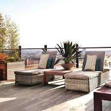 table home living outdoor garden conservatory adjustable sunbed pentire oka