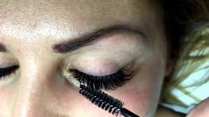 eyelash extensions by iwona upper and lower lashes 6d volume