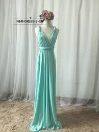 mint blue bridesmaid dresses dress infinity dress light baby mint blue floor length wrap