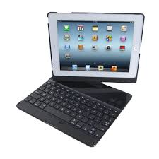 swivelling keyboard case turns ipad into pc like tablet computer