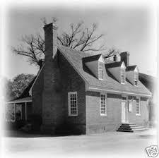 historic colonial brick cottage flexible plan detailed floor