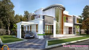 2500 Sq Ft House by New Modern Villa Plan Kerala Home Design Bloglovin U0027