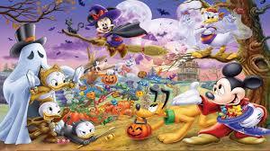 halloween wallpaper 1366x768 girls party x free widescreen hd disney halloween 1366x768