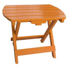 Outdoor Folding Side Table Outdoor Side Tables You Ll Wayfair