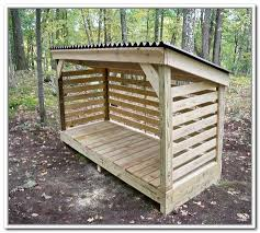 Diy Firewood Rack Plans how to build a firewood storage shed camp pinterest firewood
