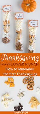 mayflower munch thanksgiving snack bags so festive