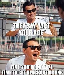 Happy Birthday Old Man Meme - joke4fun memes act your age