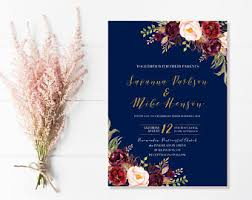 wedding invitations pictures wedding invitations etsy ca
