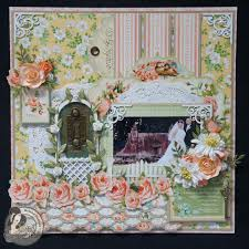 wedding scrapbook pages graphic 45 secret garden 12x12 wedding scrapbook page