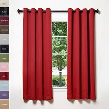red burgundy floral window curtains u2013 ease bedding with style