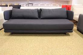 dwr sleeper sofa bay sleeper sofa charcoal modern dwr design within reach ebay