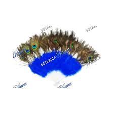 peacock feather fan peacock feather fan blue yemaya