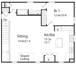 one bedroom cottage floor plans one bedroom home plans cool 18 plb43 1 bedroom transportable homes