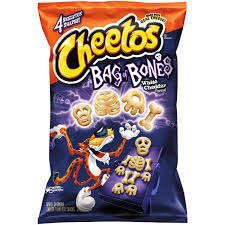bag of bones halloween decoration cheetos bag of bones white cheddar cheese flavored snacks 8 oz