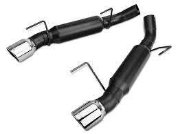 magnaflow vs flowmaster mustang flowmaster mustang outlaw series axle back exhaust 817511 05 10
