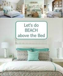 Beach Cottage Bedroom Ideas by Floating Shelf Above Bed Headboard In This Quaint Beach Cottage