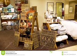 furniture home decor department store editorial stock photo