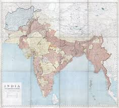Maps Of India by In High Resolution Detailed Old Map Of India And Adjacent
