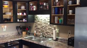 Peel And Stick Backsplash For Kitchen Peel And Stick Backsplash Youtube