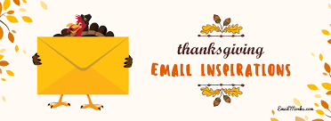thanksgiving email inspirations to gear up your caigns