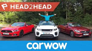 ford range rover range rover evoque convertible vs mercedes c class cabriolet vs