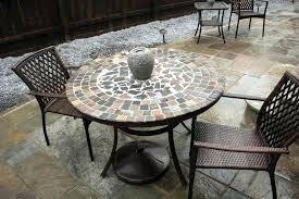 ceramic tile top patio table tile top patio table ceramic table tops patio tables luxury round
