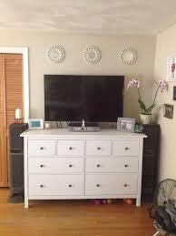Ikea Bedroom Dresser Ikea Hemnes Dresser As Tv Inspirations Also Beautiful Bedroom With