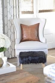 decked styled spring tour zdesign at home zdesign at home spring tour ballard designs wing chair black fur stool kravet riad drapes leather