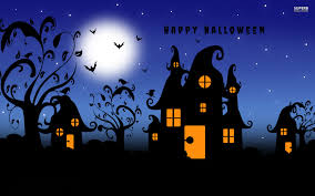 free happy halloween wallpapers wide long wallpapers