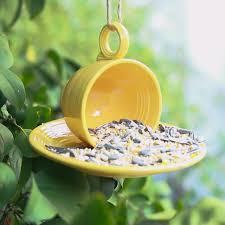 here is how to create your own teacup bird feeder teacup bird