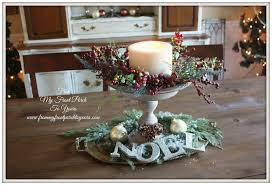 country christmas centerpieces from my front porch to yours farmhouse christmas dining