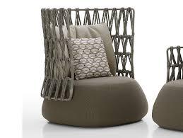 Outdoor Mobel Set Tribu Fat Sofa Outdoor High Back Armchair By B U0026b Italia Outdoor A Brand
