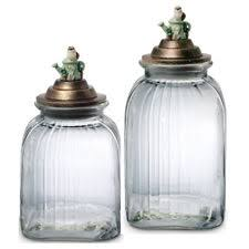 glass kitchen canisters pfaltzgraff glass kitchen canisters jars ebay