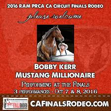 bobby kerr mustang mustang millionaire bobby kerr to perform at the 2016 ram prca