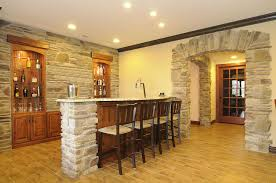 Small Basement Plans Contemporary Family Room Designed Using Basement Remodeling Ideas