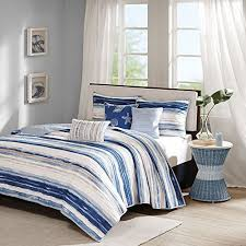 Beach Cottage Bedding Nautical Bedding King Size Amazon Com