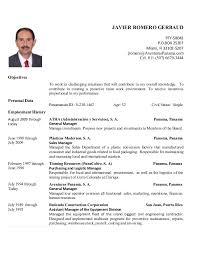 Resume English Javier Romero Gerbaud Resume Ver 04mar2016 English