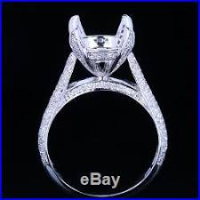 10mm diamond semi mount ring 10mm