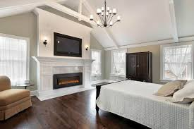 built in electric fireplace interior design