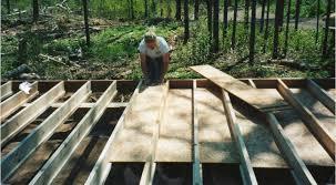 cabin floor insulating portable buildings small cabin forum