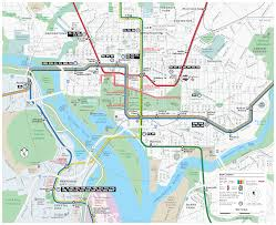 Washington Dc Metro Map Pdf by Inauguration Day Service Information Wmata